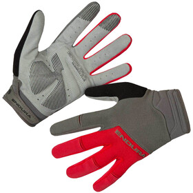 Endura Hummvee Plus II Handschoenen, red